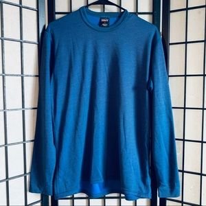 Patagonia Capilene blue base layer shirt sz M